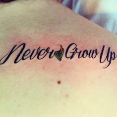 Community Post: 45 Amazing Peter Pan Tattoos