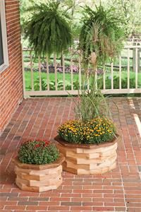 Large Amish-made Patio Planter