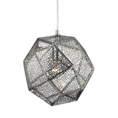 Shape, angle, shine. These three properties define the Take A Side Pendant Light, a fabulously contemporary fixture that will complete the modern theme of an energetic space. A multi-sided ball embrace...  Find the Take A Side Pendant Light, as seen in the #MarrakechModern Collection at http://dotandbo.com/collections/marrakechmodern?utm_source=pinterest&utm_medium=organic&db_sku=111505