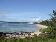 Molokai ~ 'Iliopi'i Beach on the Western Shore of the Kalaupapa Peninsula