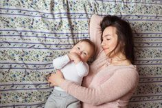 A Mother and baby child on a bed. photo by ollinka on Envato Elements Best Mother, Mother And Baby, Warm Sweaters, Plexus Products, Black Backgrounds, Design Trends, Maternity, Journey, Stock Photos