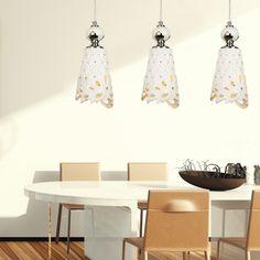 European Fashion Dining Room Pendent Lamp Simple Art Ceramics Hollow Bar Pendent Lamp -2