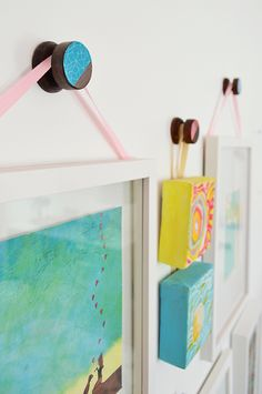 A quick & easy way we personalized our hooks from Home Depot ❤️