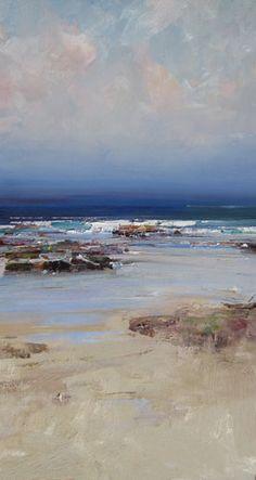 Ken Knight-Rocks and Ocean