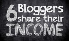 Most bloggers keep their income a secret! Today six bloggers are opening up about how much money do bloggers make. Find out how much bloggers are really making.