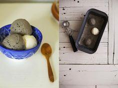 Golubka: Black Sesame and Ginger Ice Cream
