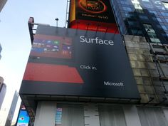 Microsoft Surface Ad Time Square, New York City #3