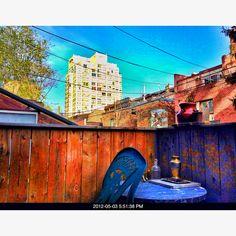 Backyard, Painting, Art, Art Background, Patio, Painting Art, Backyards, Kunst, Gcse Art