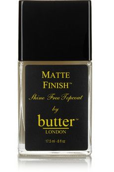 Butter London Matte Finish Topcoat, 17.5ml | NET-A-PORTER