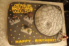 craftyland: star wars birthday cake