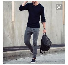 This is my style.. like the casualness of it. Perfect pair of pants/jeans and long tee