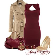 """Christmas Party dress"" by sanchez-gaby on Polyvore"