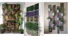 25 modelos de jardines verticales para espacios pequeños - Contenido seleccionado con la ayuda de http://r4s.to/r4s