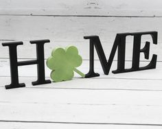 HOME Wooden Letters Interchangeable Letter Set by TimelessNotion