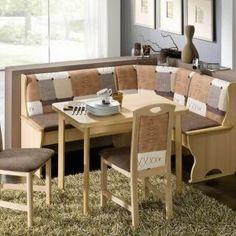 Corner Kitchen Nook Table Set