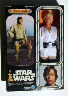 "Star Wars 12"" Luke Skywalker  Kenner 1978"