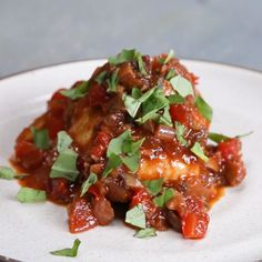 Easy Mouth-Watering Chicken Cacciatore #dinner #chicken #simple