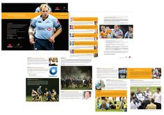 Rugby Brochure, simple yet effective
