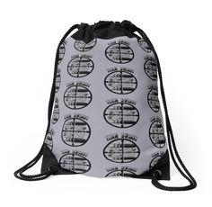 Haven Syfy Inspired Drawstring Bag |  Haven Team Dwight Bullet Magnet Black Logo