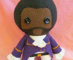 Marquis de Lafayette Hamilton Fleece Plush Doll by flightydollies