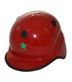 Baseball Helmet Fiber Glass Color Availability :Red Size : Standard  Type :Fiber Glass Pro