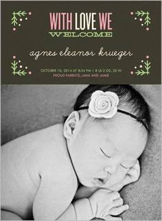 We Welcome 6x8 Stationery Card by Float Paperie | Shutterfly