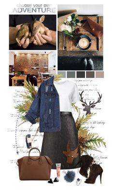 """""""Oh deer!"""" by auby ❤ liked on Polyvore featuring WALL, Lemaire, Pierre Cardin, Giuseppe Zanotti, Torrid, Givenchy, Michael Kors, Tory Burch and Humör"""
