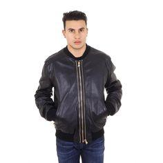 Dolce & Gabbana mens leather jacket G9BN9L FUL1R N0000