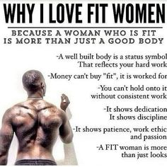 Men Love Fit Chics