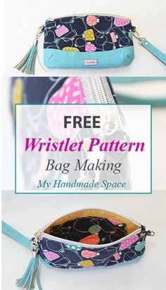 free wristlet pattern