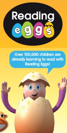 Reading Eggs - Save + Get 500 SmartPoints for Homeschoolers Today - Homeschool Buyers Co-op Reading Games, Reading Lessons, Reading Skills, Online Reading Programs, Reading Eggs, Classroom Websites, Funny Songs, Online Lessons, Learn To Read