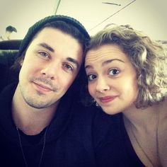 Carrie Hope Fletcher and Pete Bucknall