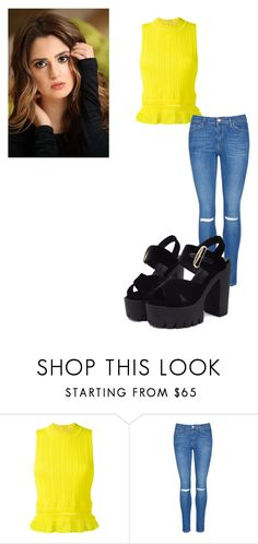 """""""Laura Marano Cute Style"""" by necassilveira on Polyvore featuring 3.1 Phillip Lim and Topshop"""