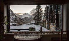 Villa Domain Toit du Monde in Val-d'Isère, France #villa #amazingview #snow