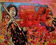 Ray Stephenson is a Grammy Award winning, Platinum selling singer/songwriter and painter from Nashville, TN. Paintings For Sale, Original Paintings, Freedom Art, Rare Gems, Willie Nelson, Guitar Art, Rockn Roll, Jimi Hendrix, Classic Rock