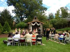 an afternoon wedding complete with seven shouting children