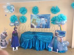 Mesa de Candy Bar de Frozen
