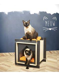 Descubre Dufour, el hogar ideal para perros pequeños y gatos en nuestra tienda online de casas de madera para mascotas. Modelo versátil con dos espacios.