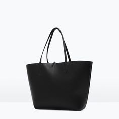 Image 2 of REVERSIBLE CONTRAST SHOPPER from Zara