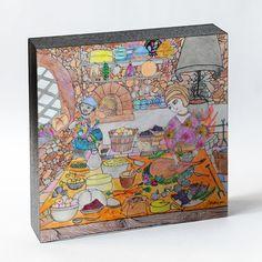 Ambientes sóbrios, roupas coloridas, ingredientes rústicos na Cozinha Medieval
