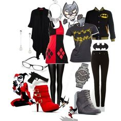All the lovely Batman style outfits