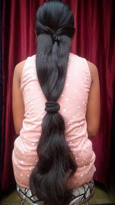 Alia Bhatt Hairstyles, Braided Hairstyles, Big Bun, Long Black Hair, Braids For Long Hair, Hair Beauty, Hair Images, Queen, Long Hair Styles