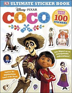 Ultimate Sticker Book: Disney Pixar Coco (Ultimate Sticker Books)