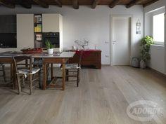 Oak wood flooring / Parquet in Rovere