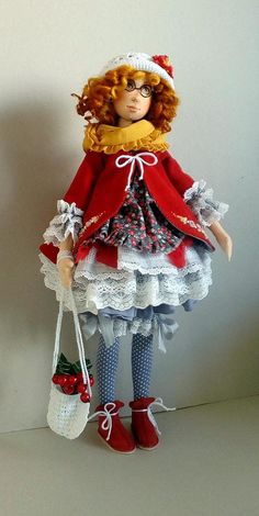 (81) Одноклассники Clay Dolls, Felt Dolls, Doll Toys, Guys And Dolls, Fabric Toys, All Things Cute, Doll Crafts, Soft Sculpture, Doll Face