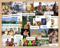 Use Vision Board To Activate Law Of Attraction - Successful Business Online