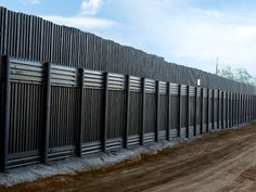 Fence Technology Along the Southern U.S. Border: Map