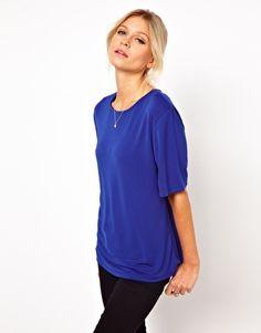 ASOS Oversized T-Shirt in Crepe