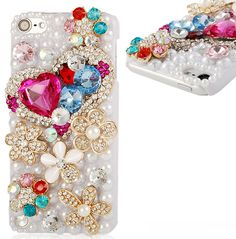 iPod Touch 5 - Crystal Flowers/Hearts/Fox Case in Assorted Designs · Cool Mobile Accessories · Online Store Powered by Storenvy