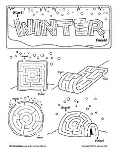 Printable Space Maze: Travel through a chaotic cluster of
